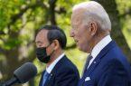 رایزنی بایدن و نخستوزیر ژاپن با تمرکز بر چین و کرهشمالی