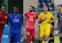 مغانلو، دیاباته و عباسزاده در بین برترین مهاجمان لیگ قهرمانان آسیا