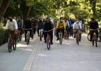 احداث مسیر دوچرخهسواری در بوستان زندگی